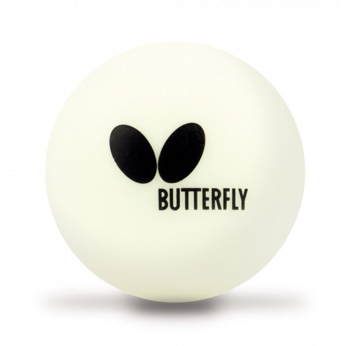 BUTTERFLY Easy Ball 40 plus Box of 6