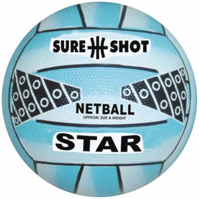 SURE SHOT Star Netball (Blue Size 5)