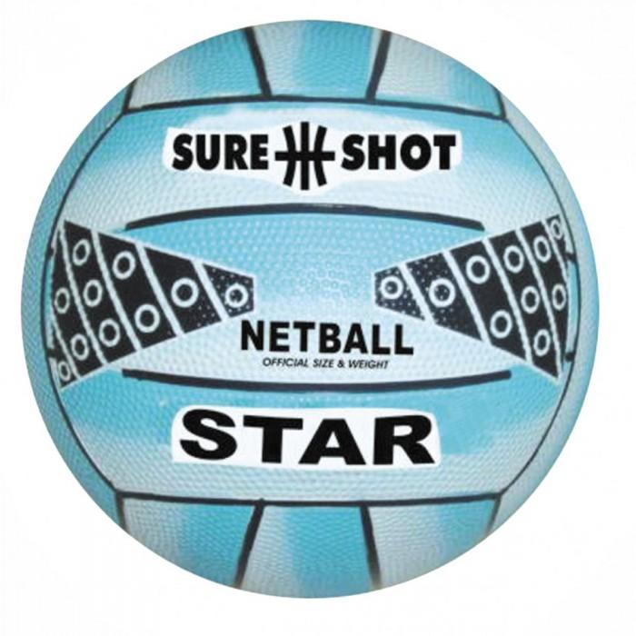 SURE SHOT Star Netball (Blue Size 4)