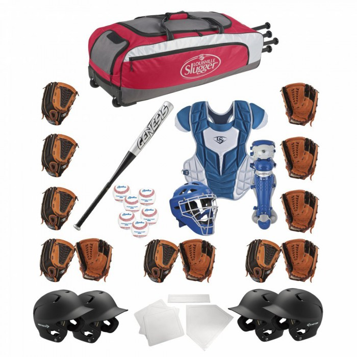 LOUISVILLE SLUGGER BSUK Hit The Pitch Baseball and Fast Pitch Pack