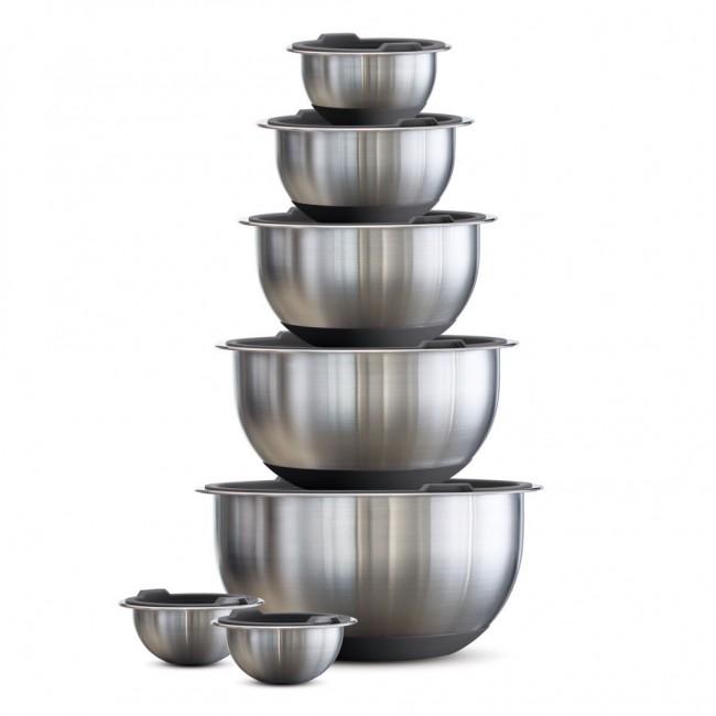 Tramontina Stainless Steel Mixing Bowl 14 Piece Set