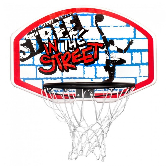 SURE SHOT 716 In The Street Backboard And Ring Set